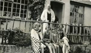 Family holiday at Birchington, Kent